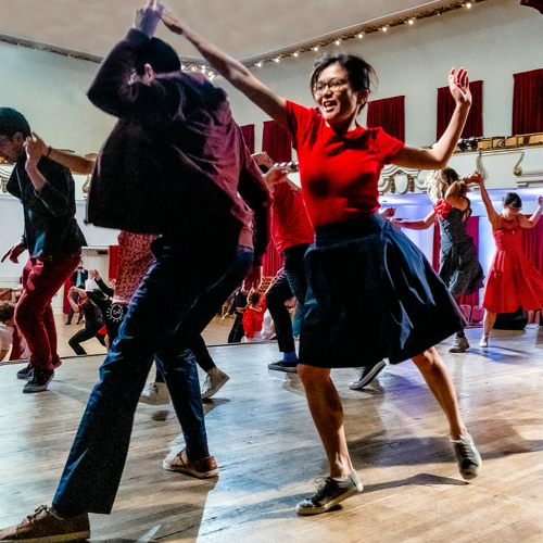 Category Swing dance classes including genres such as